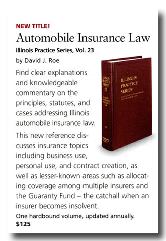 David Roe Illinois Insurance Lawyer Publications Best Illinois Pattern Jury Instructions Civil
